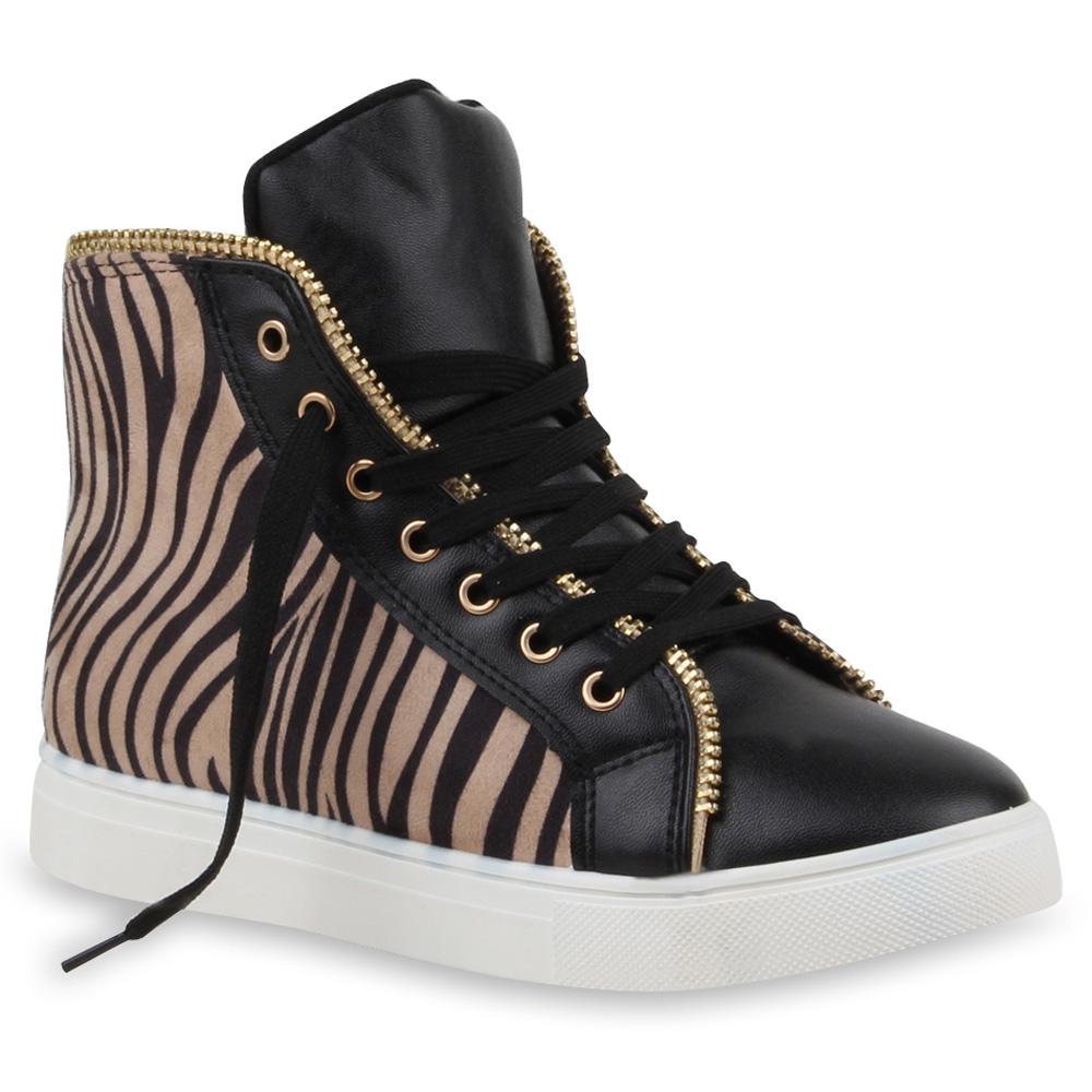 sportliche damen sneakers sportschuhe helle sohle 71158 gr 36 41 modatipp. Black Bedroom Furniture Sets. Home Design Ideas