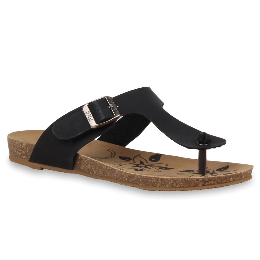 damen komfort sandalen schnallen bequeme sommer schuhe 76519 ebay. Black Bedroom Furniture Sets. Home Design Ideas
