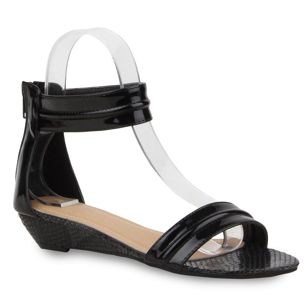 damen sandalen riemchensandalen flats sommer schuhe 71570 top ebay. Black Bedroom Furniture Sets. Home Design Ideas