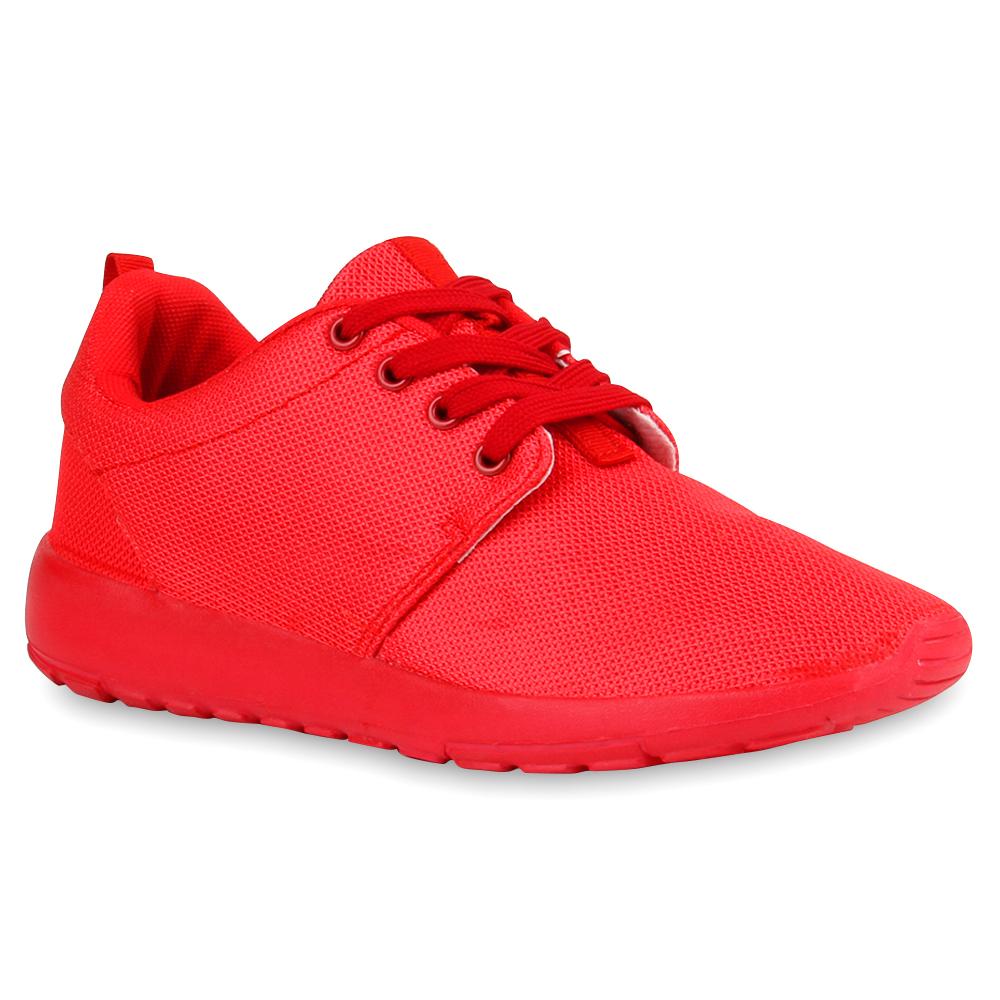 rote damen sportschuhe laufschuhe runners sneakers 76817. Black Bedroom Furniture Sets. Home Design Ideas