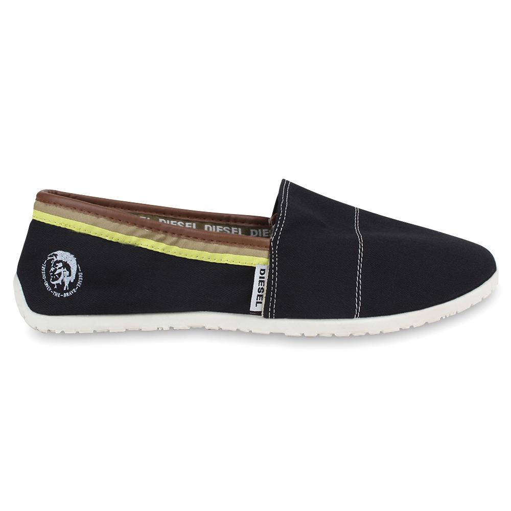 diesel herren sneakers espadrilles slipper sommer schuhe slip on 890099 neu ebay. Black Bedroom Furniture Sets. Home Design Ideas