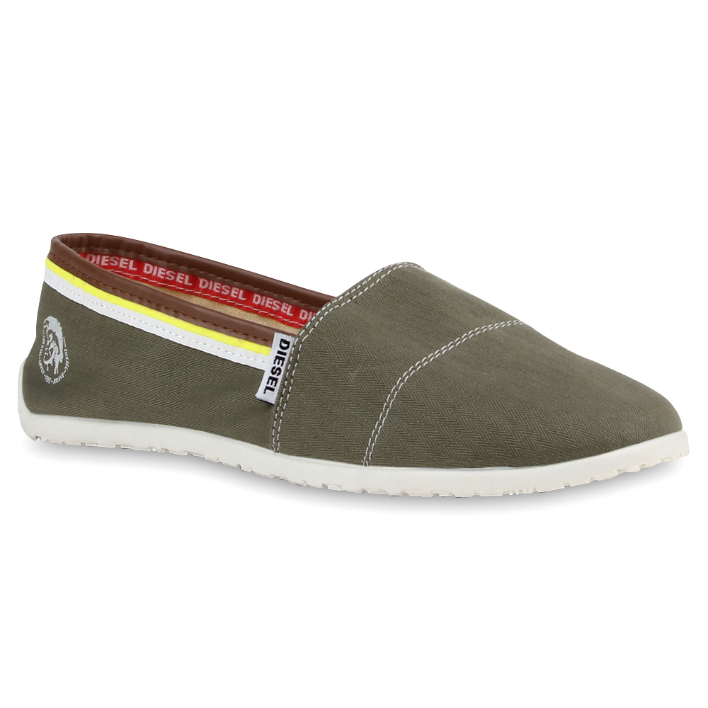 herren slipper diesel sportliche espadrilles slip ons 76853 ebay. Black Bedroom Furniture Sets. Home Design Ideas