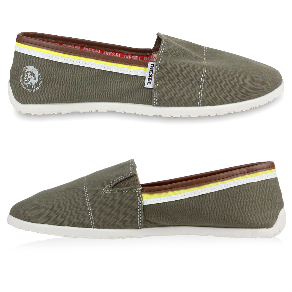 diesel herren sneakers espadrilles slipper sommer schuhe slip on 890101 neu ebay. Black Bedroom Furniture Sets. Home Design Ideas