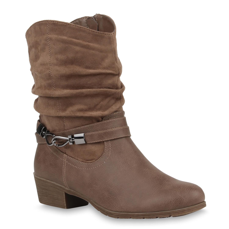 damen stiefeletten cowboy boots stiefel weitschaft schuhe. Black Bedroom Furniture Sets. Home Design Ideas