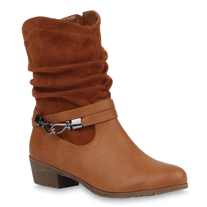 damen stiefeletten cowboy boots stiefel weitschaft schuhe 77177 new look ebay. Black Bedroom Furniture Sets. Home Design Ideas