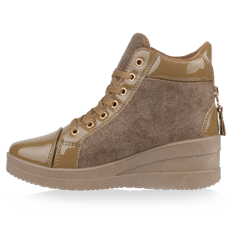 Fashion Freizeitschuhe Damen Schuhe Sneakers 2131 Schwarz 38
