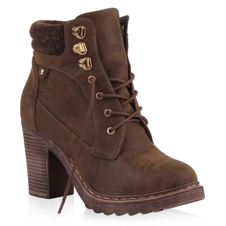 elegante damen stiefeletten 98085 moderne high heels schuhe 35 41 new look ebay. Black Bedroom Furniture Sets. Home Design Ideas