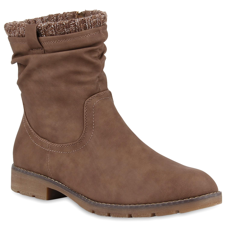 warm gef tterte herren stiefel worker boots winterboots 99873 gr 40 45 ebay. Black Bedroom Furniture Sets. Home Design Ideas