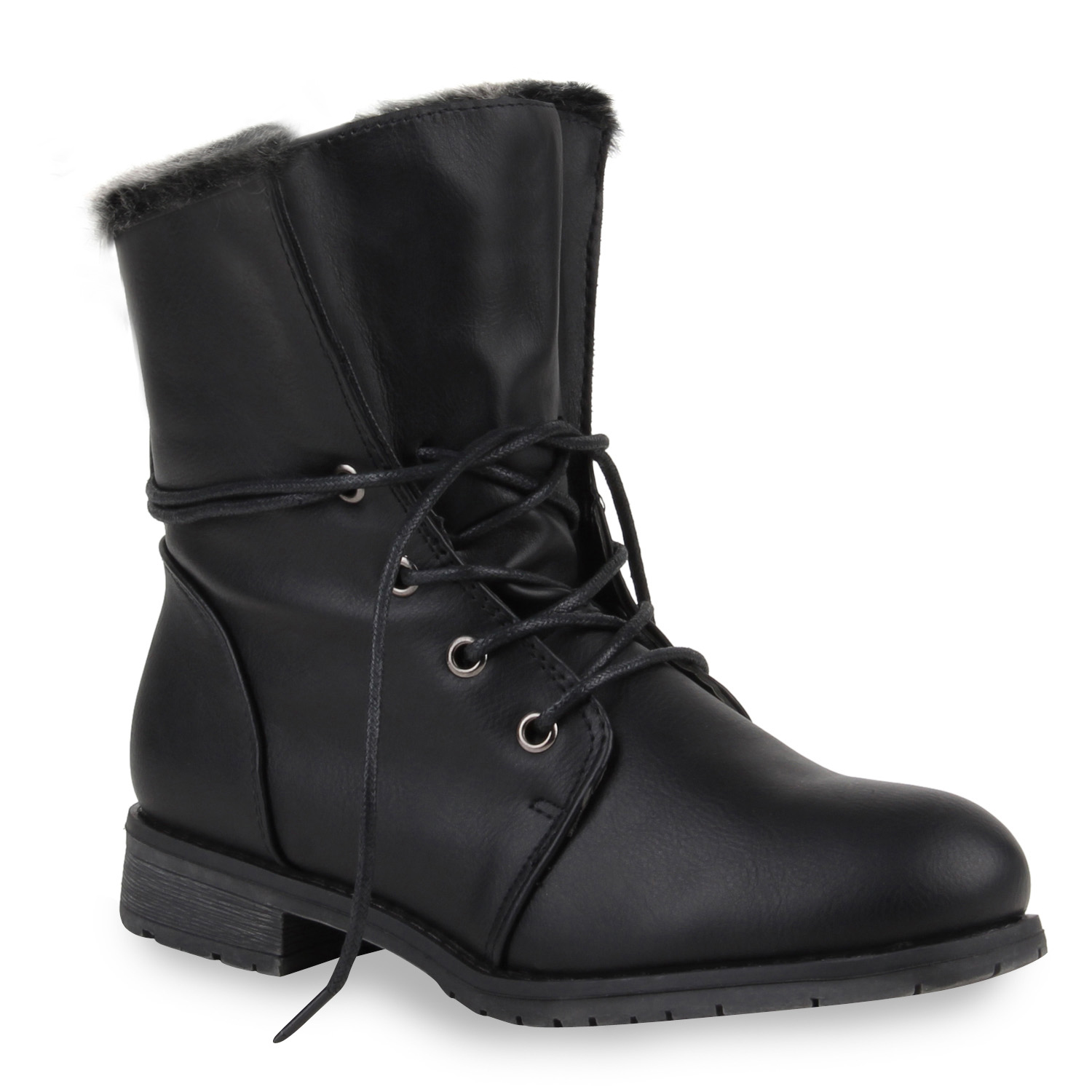 warm gef tterte damen winterboots stiefeletten winter schuhe 890382 ebay. Black Bedroom Furniture Sets. Home Design Ideas