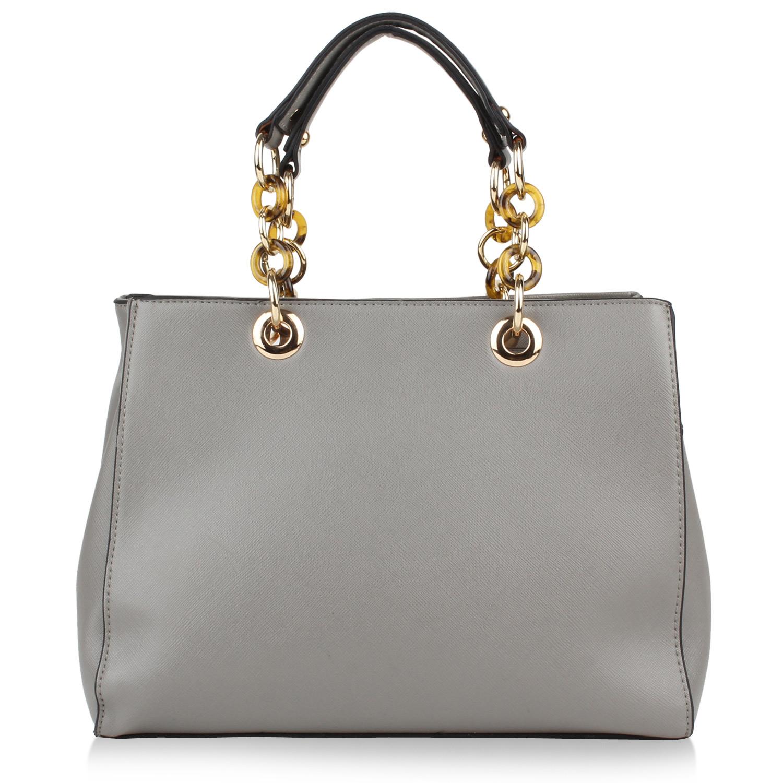 Damen Handtaschen Umhängetaschen Ketten Schulterriemen Lederoptik ...
