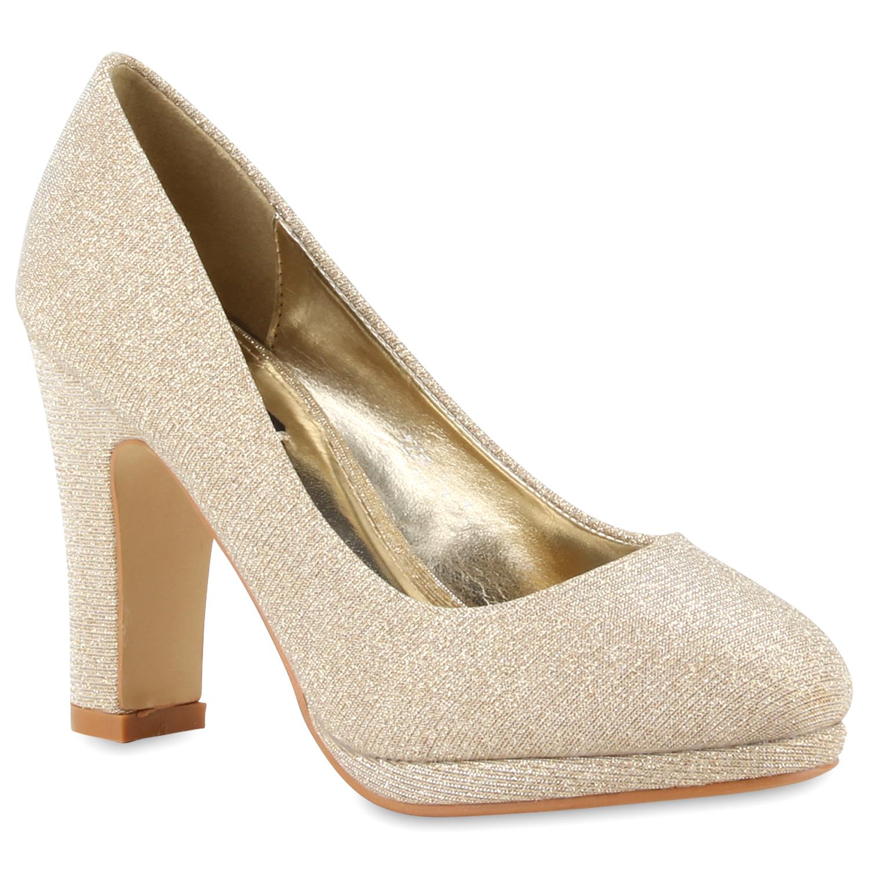 damen pumps high heels glitzer plateau vorne party schuhe 78355 new look ebay. Black Bedroom Furniture Sets. Home Design Ideas
