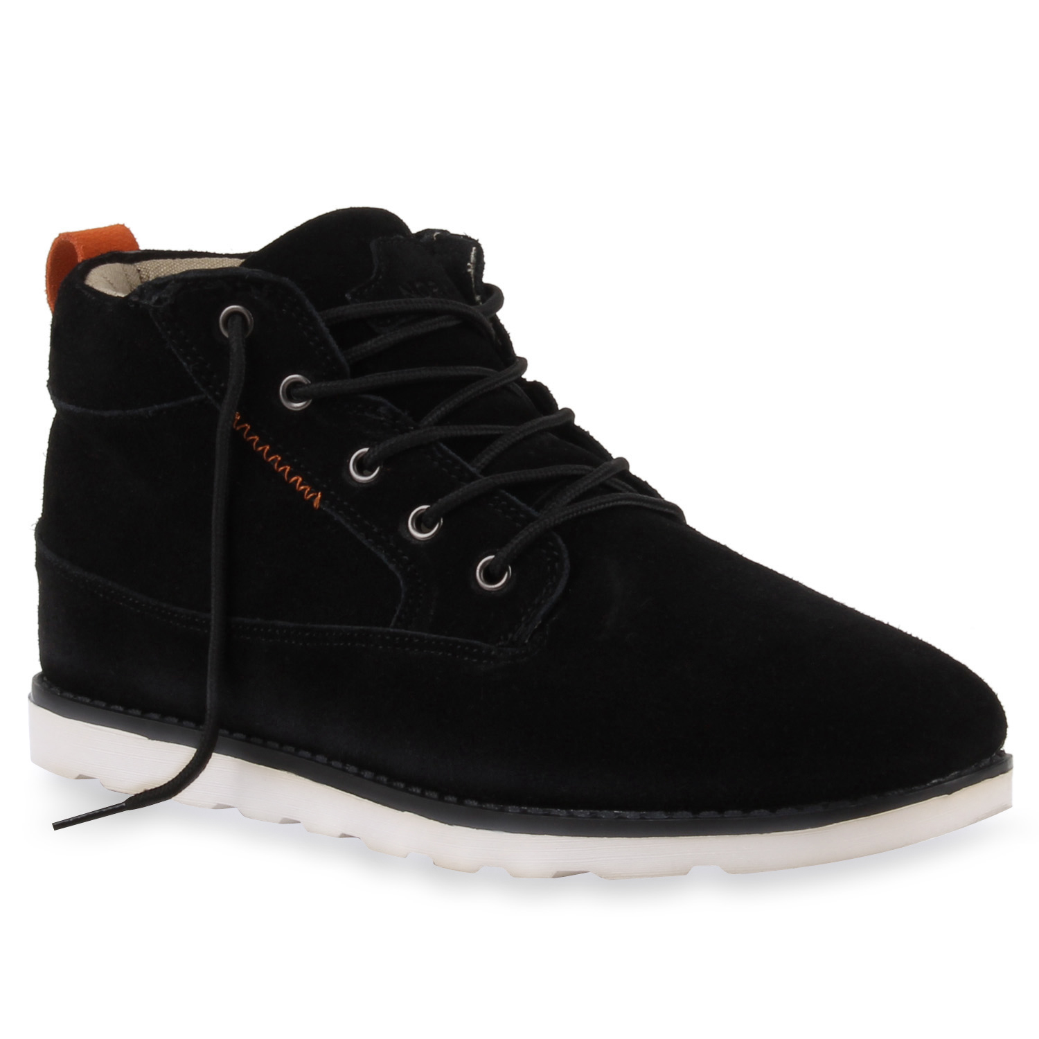 warm gef tterte herren sneakers high top winter schuhe 74157 trendy ebay. Black Bedroom Furniture Sets. Home Design Ideas