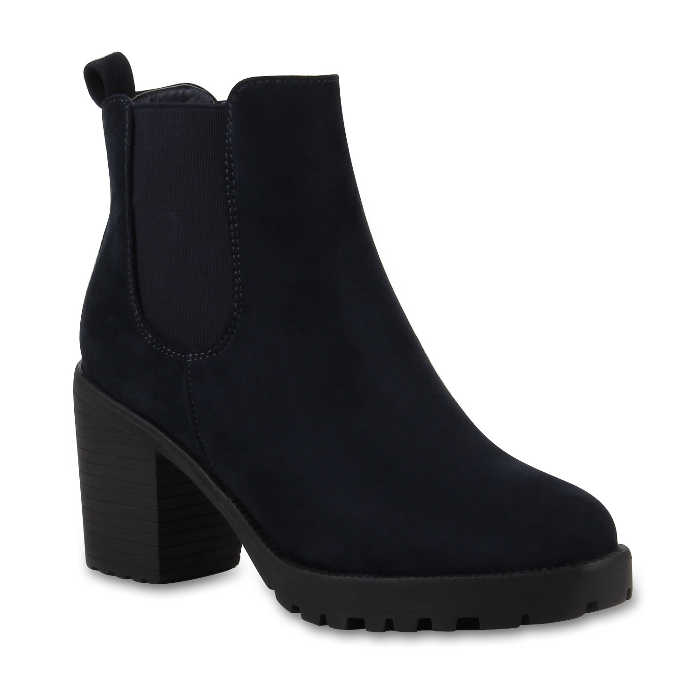 damen stiefeletten blockabsatz chelsea boots profilsohle 77276 new look ebay. Black Bedroom Furniture Sets. Home Design Ideas