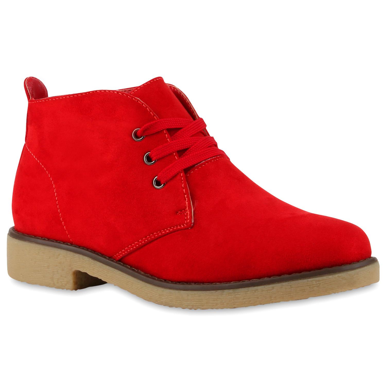 coole damen stiefeletten men style schn rstiefel desert boots 72662 new look ebay. Black Bedroom Furniture Sets. Home Design Ideas