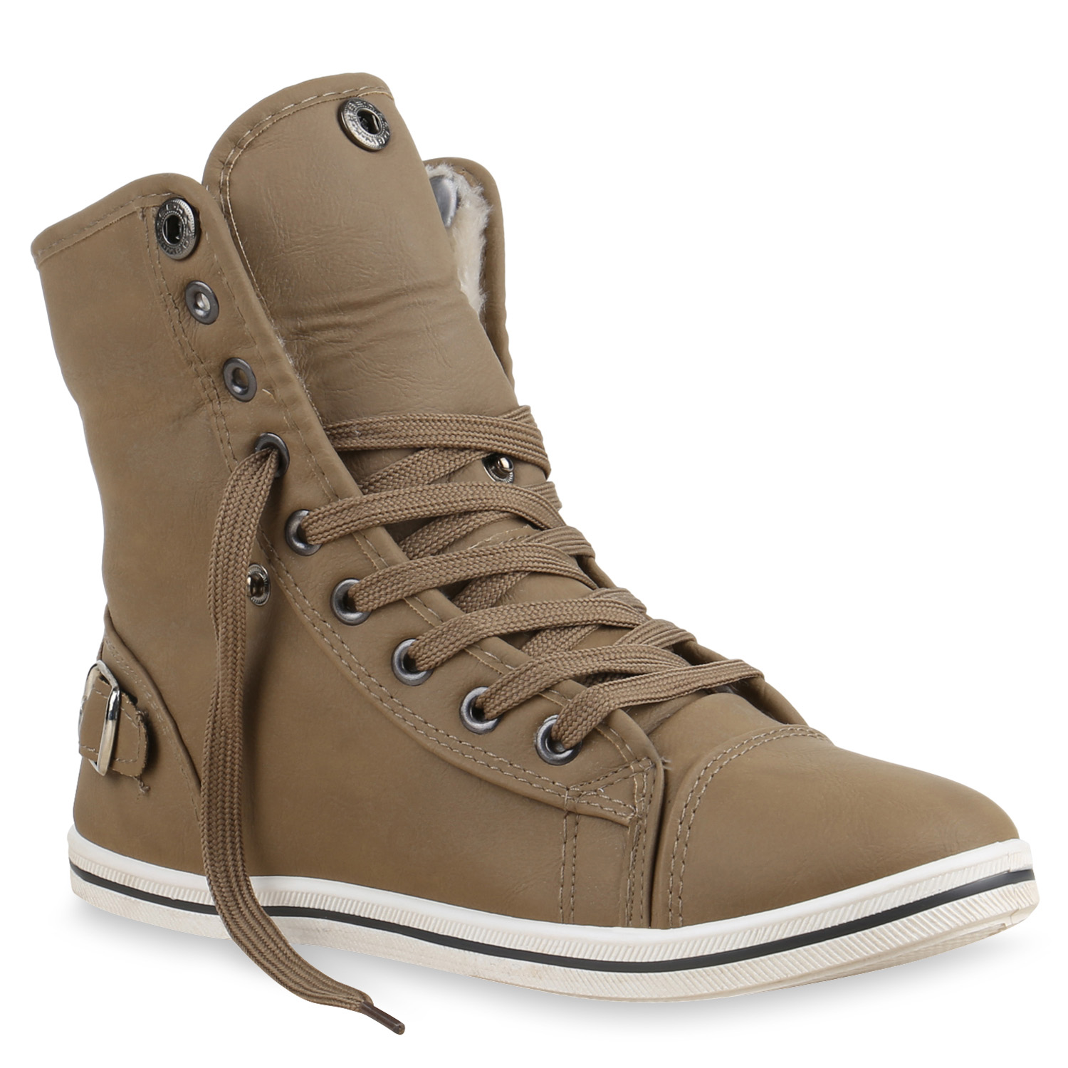 damen sneakers stoffschuhe sneaker boots 71280 sportschuhe gr 36 41 ebay. Black Bedroom Furniture Sets. Home Design Ideas