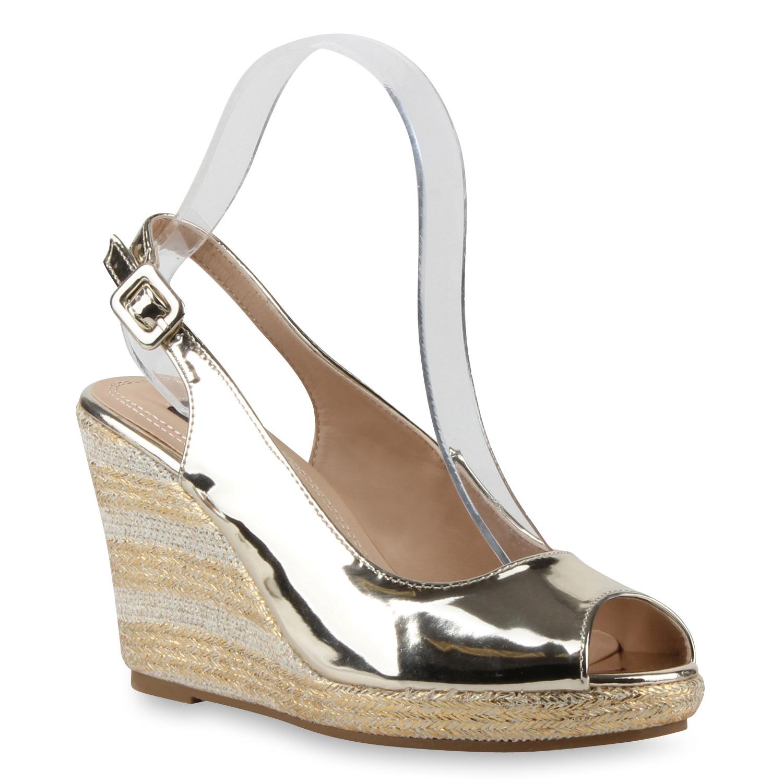 multimodell damen keilabsatz sandaletten bast wedges. Black Bedroom Furniture Sets. Home Design Ideas