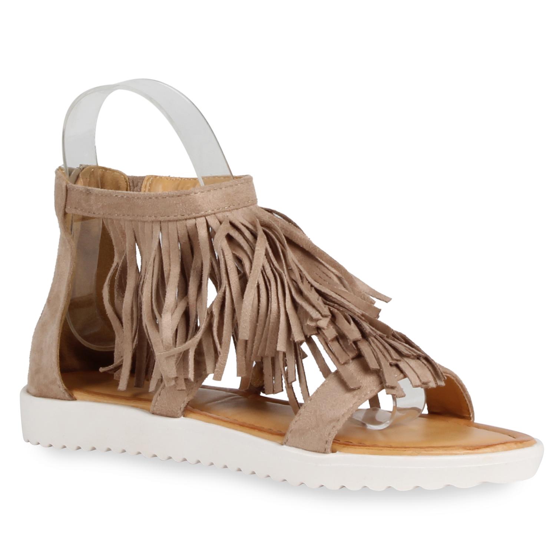 karneval kost m fasching r mer damen sandalen fransen. Black Bedroom Furniture Sets. Home Design Ideas