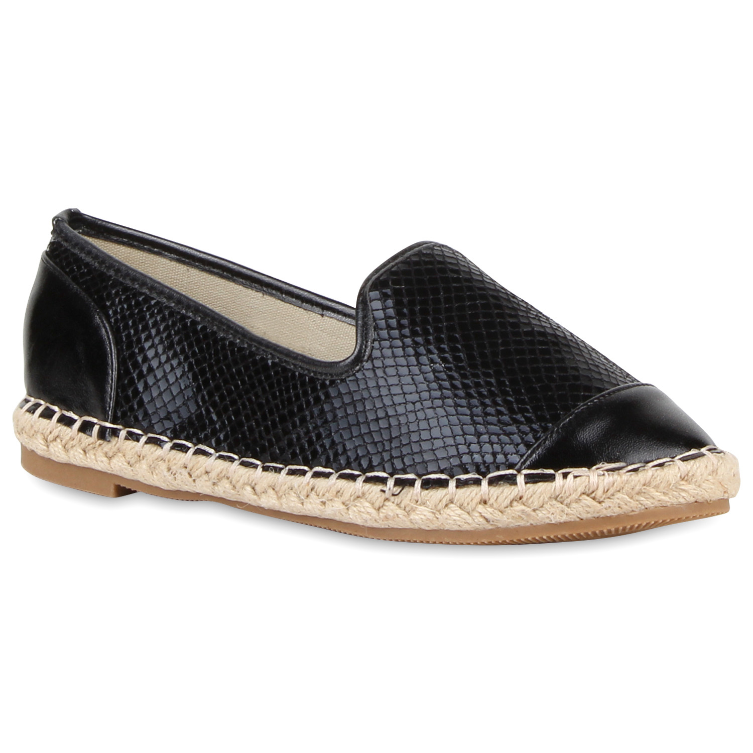 damen espadrilles bast slipper metallic sommer schuhe 810635 ebay. Black Bedroom Furniture Sets. Home Design Ideas