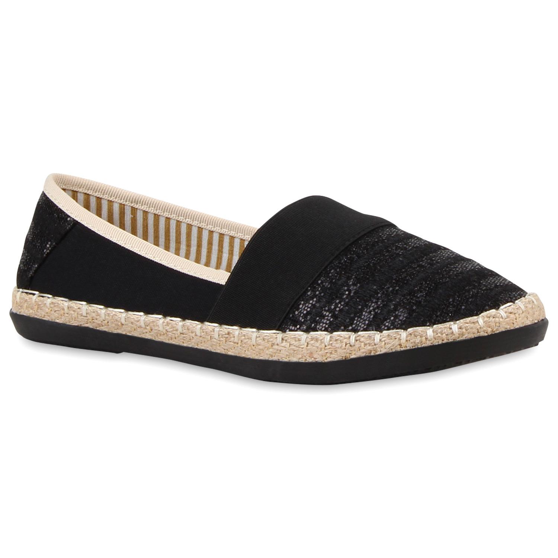 damen espadrilles bast slipper glitzer streifen sommer schuhe 810904 ebay. Black Bedroom Furniture Sets. Home Design Ideas