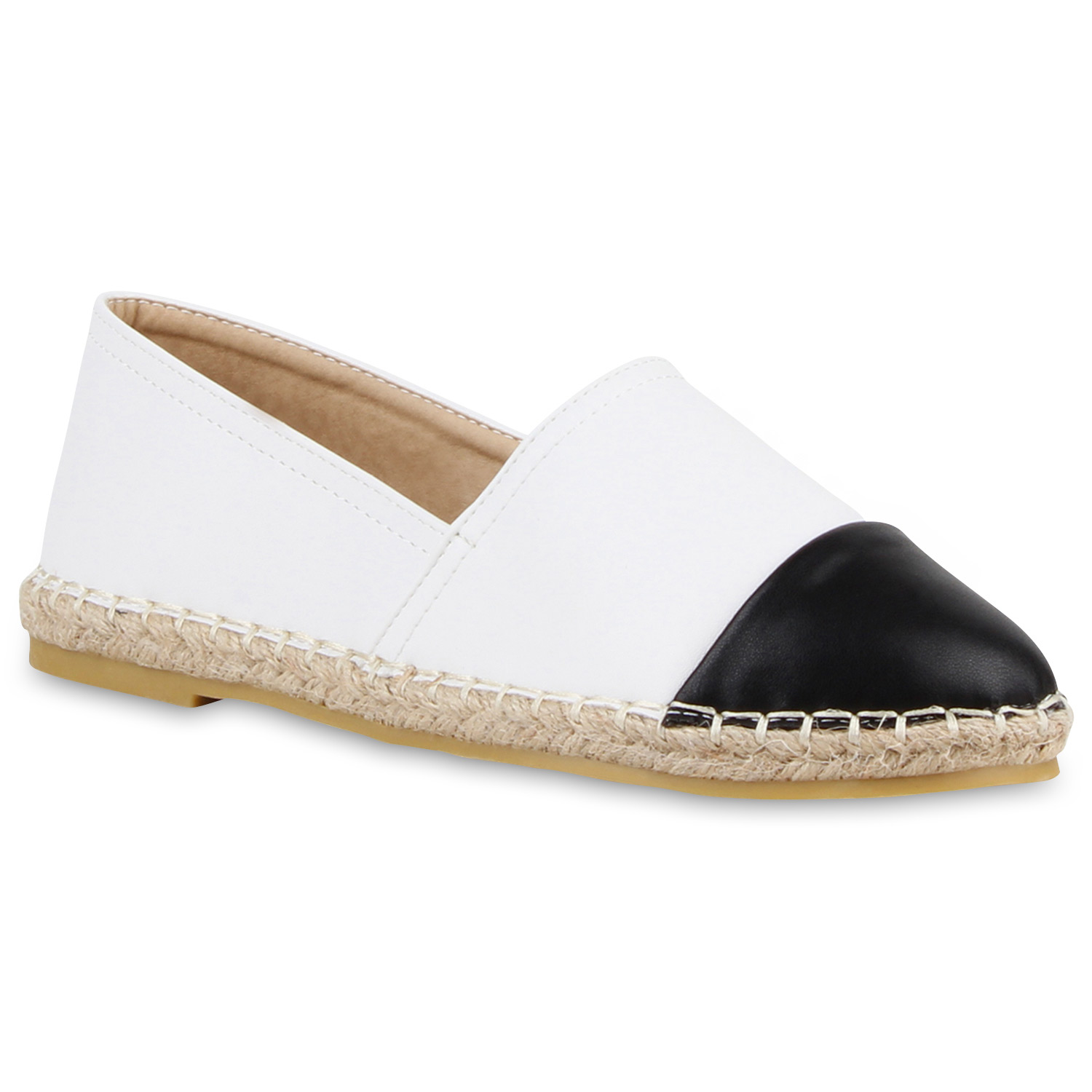 modische damen bast slipper bequeme espadrilles sommer schuhe 811185 trendy ebay. Black Bedroom Furniture Sets. Home Design Ideas