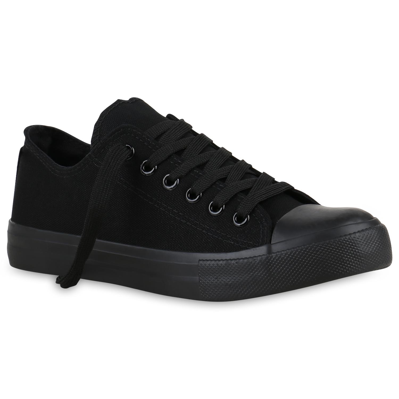 damen herren sneakers low canvas turnschuhe basic schuhe. Black Bedroom Furniture Sets. Home Design Ideas