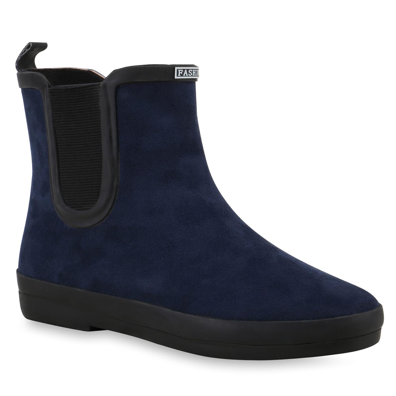 sportliche damen chelsea boots stiefeletten veloursoptik. Black Bedroom Furniture Sets. Home Design Ideas