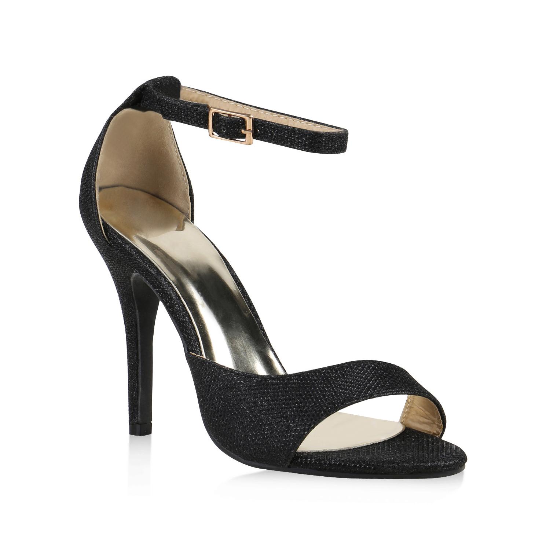 high heels damen metallic sandaletten party ballschuhe glitzer 812624 new look. Black Bedroom Furniture Sets. Home Design Ideas