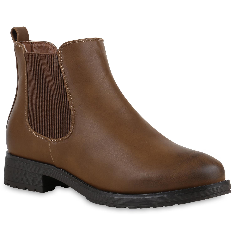 gef tterte damen chelsea boots profil sohle stiefeletten. Black Bedroom Furniture Sets. Home Design Ideas