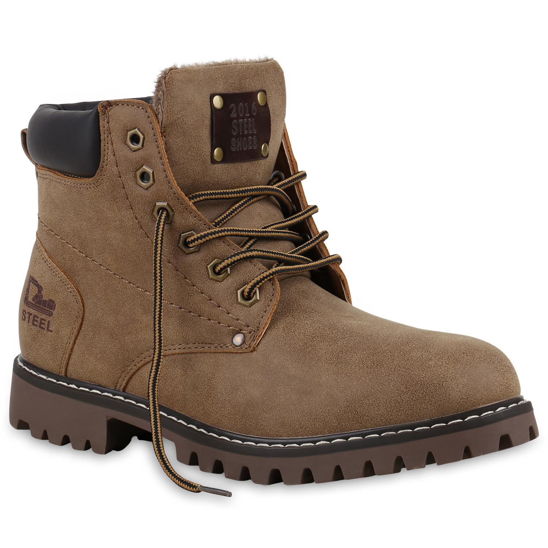worker boots herren outdoor schuhe nieten profil sohle. Black Bedroom Furniture Sets. Home Design Ideas
