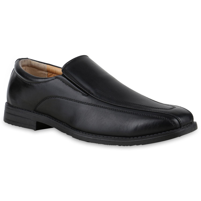 klassische herren slipper bequeme schuhe lederoptik 814072. Black Bedroom Furniture Sets. Home Design Ideas