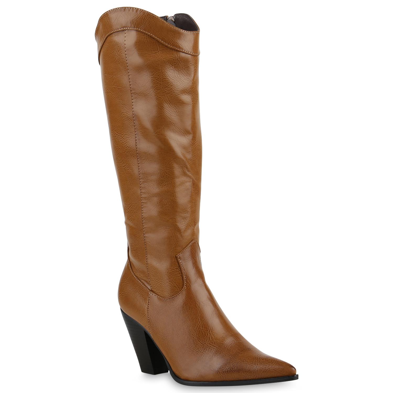 spitze damen cowboy stiefel langschaft western boots schuhe 814078 new look ebay. Black Bedroom Furniture Sets. Home Design Ideas