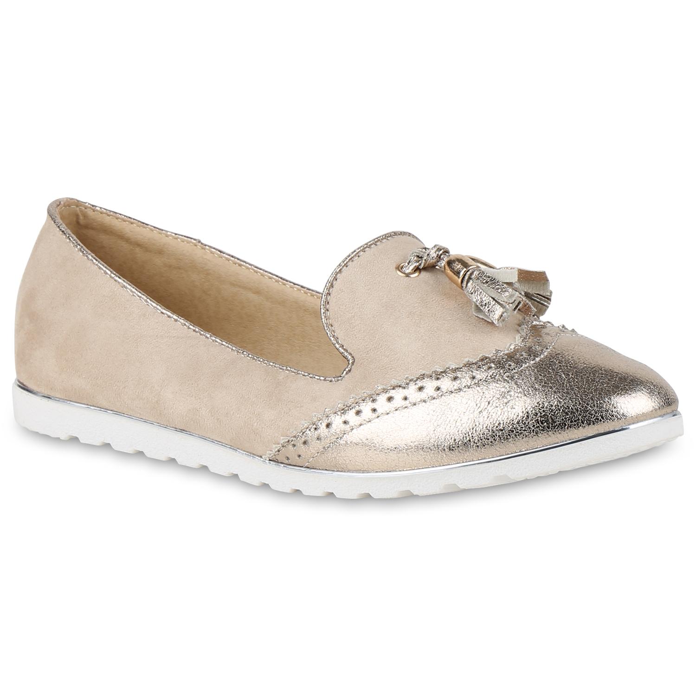Damen loafers quasten glitzer slipper dandy geek for Dandy look fa r damen