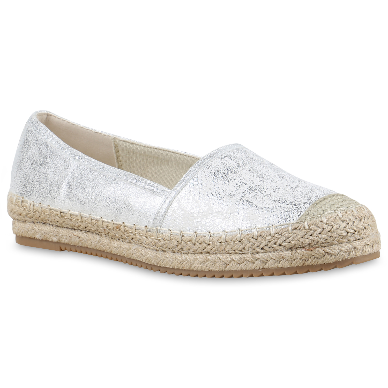 trendstyle damen schuhe 129910 slipper silber 40 ebay. Black Bedroom Furniture Sets. Home Design Ideas
