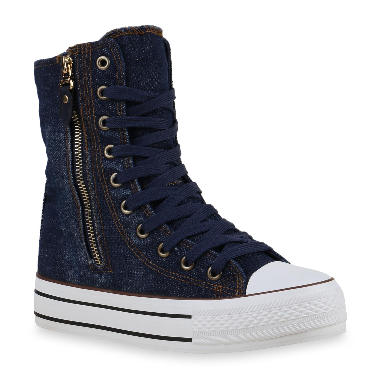 damen high top sneakers sneakerstiefel camouflage boots. Black Bedroom Furniture Sets. Home Design Ideas