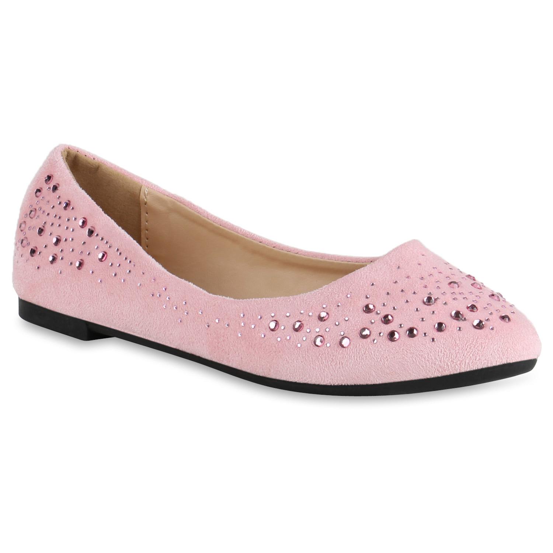 spitze damen ballerinas strass flats lederoptik schuhe slipper 814600 new look ebay. Black Bedroom Furniture Sets. Home Design Ideas