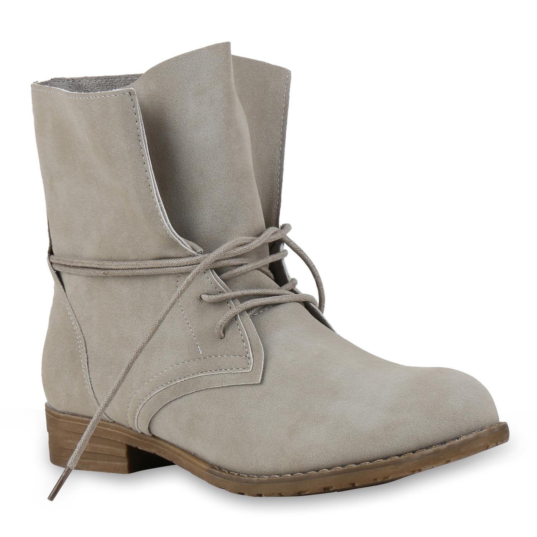 damen stiefeletten worker boots weitschaft schn rstiefeletten 814652 ebay. Black Bedroom Furniture Sets. Home Design Ideas