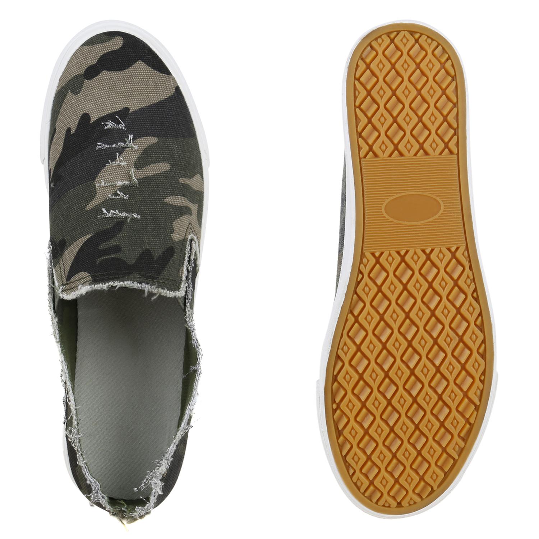 must have damen schuhe 132035 sneakers camouflage 37 stylisch ebay. Black Bedroom Furniture Sets. Home Design Ideas