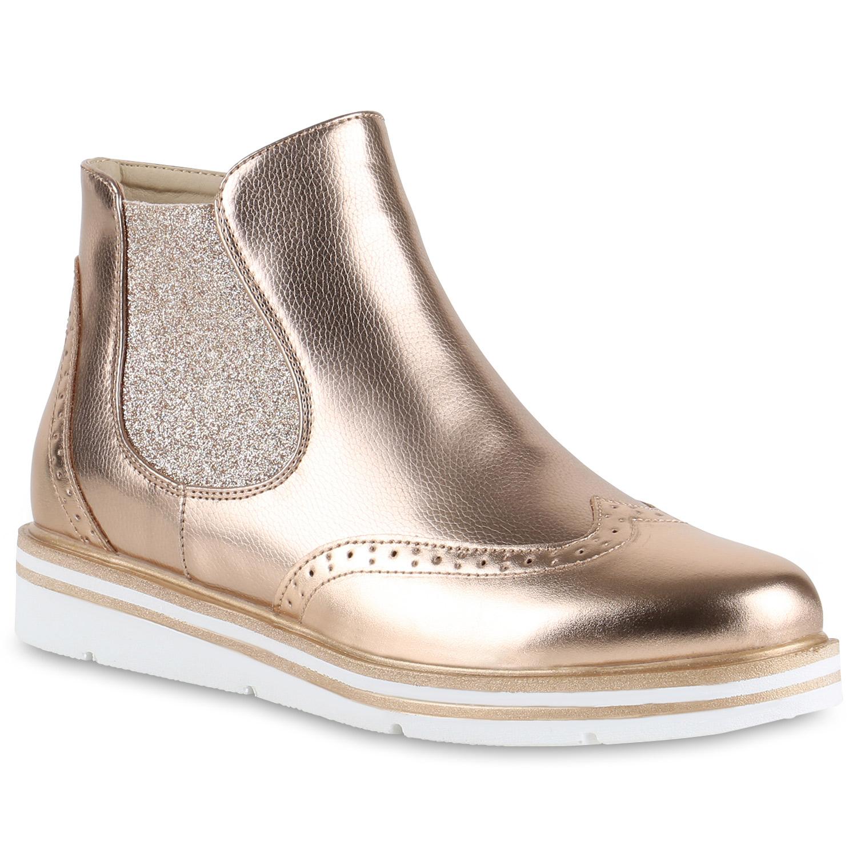 damen plateau chelsea boots metallic glitzer stiefeletten schuhe 814877 new look ebay. Black Bedroom Furniture Sets. Home Design Ideas