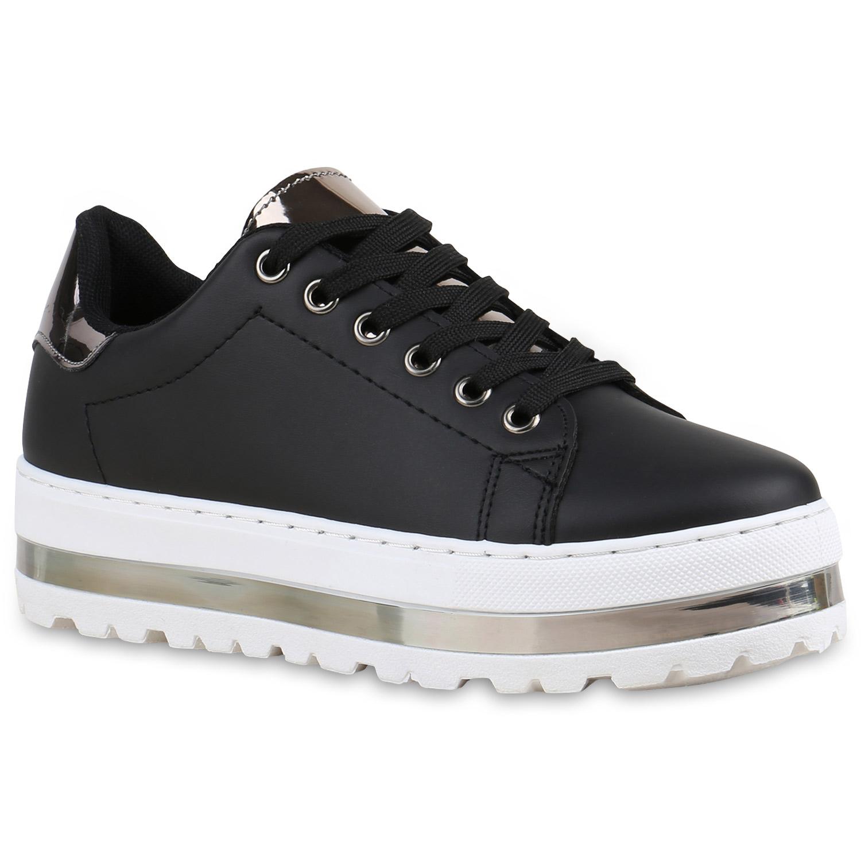 damen plateau sneaker lack metallic sneakers schuhe 815355. Black Bedroom Furniture Sets. Home Design Ideas