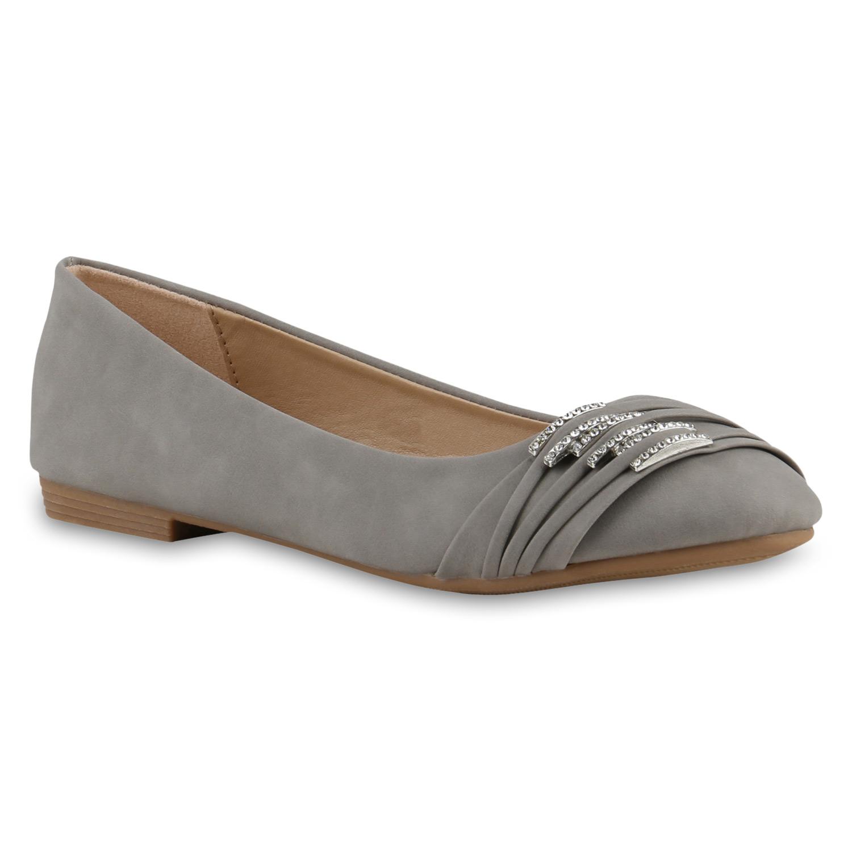 Damen Ballerinas Spitze Flats Slipper Feminine Schuhe 816846 Trendy