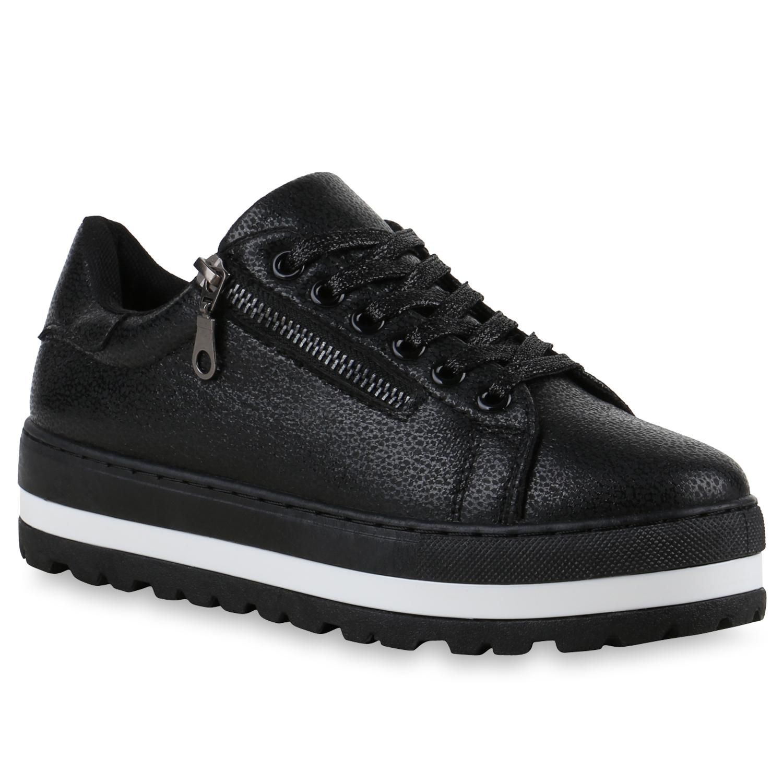damen plateau sneaker metallic cap sneakers lack schuhe 815358 mode. Black Bedroom Furniture Sets. Home Design Ideas