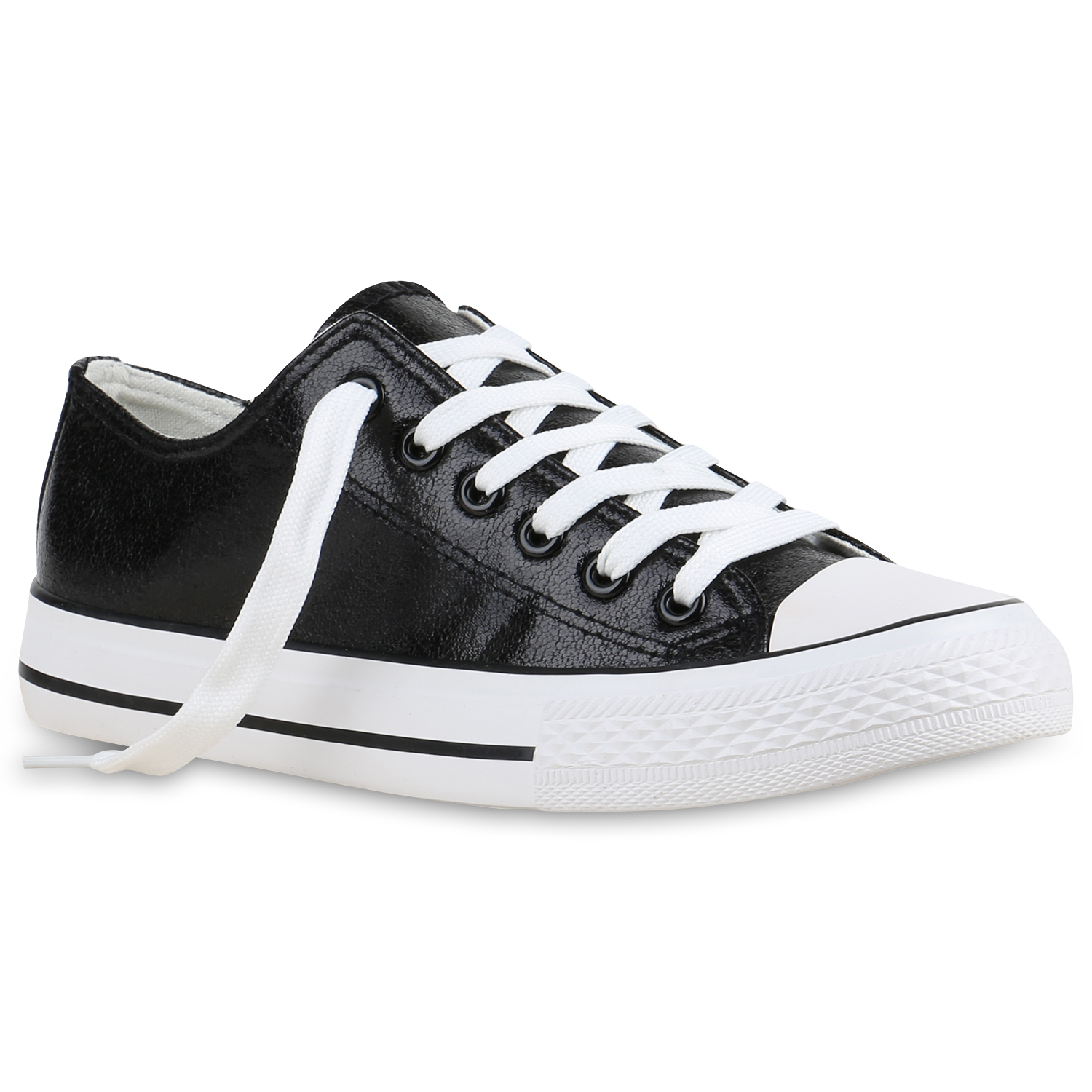 modische damen metallic sneakers low glitzer canvas schuhe 816163 trendy ebay. Black Bedroom Furniture Sets. Home Design Ideas