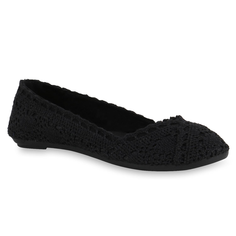 damen ballerinas spitze flats slipper feminine schuhe 816846 ebay. Black Bedroom Furniture Sets. Home Design Ideas