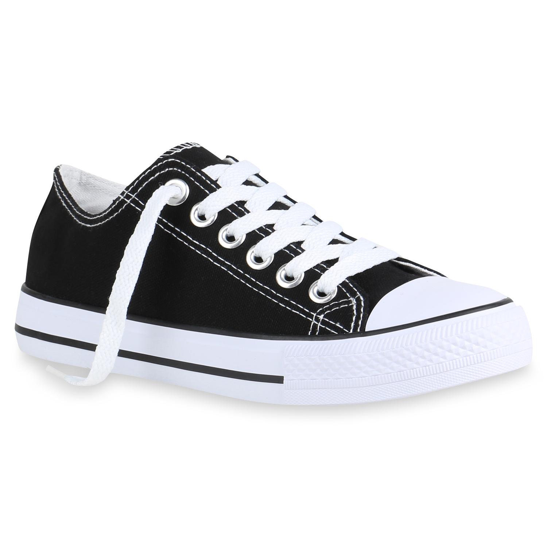 Damen Sneaker Low Basic Turnschuhe Freizeit Schnürer Schuhe 899177 Hot