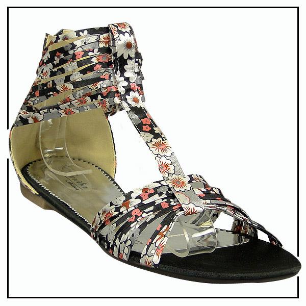 riemchen sommer schuhe gr 36 41 damen sandalen 91660 new look ebay. Black Bedroom Furniture Sets. Home Design Ideas
