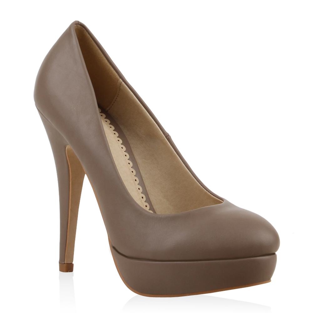 traum plateau high heels damen pumps 93615 schuhe 35 41 ebay. Black Bedroom Furniture Sets. Home Design Ideas