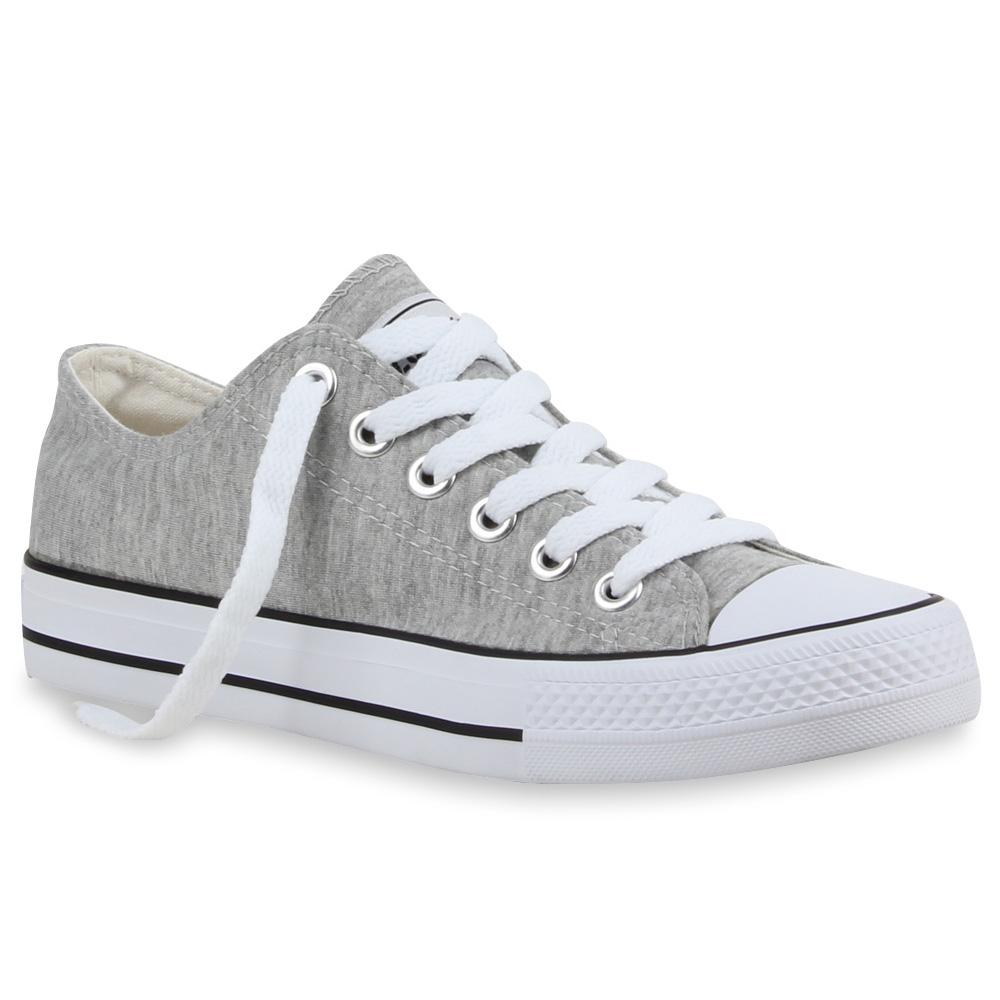 Damen-Sneaker-Schnuerer-94237-Trendy-Schuhe-Groessen-35-46