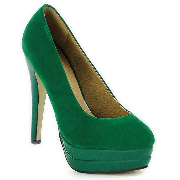 moderne damen plateau pumps high heels stilettos schuhe. Black Bedroom Furniture Sets. Home Design Ideas