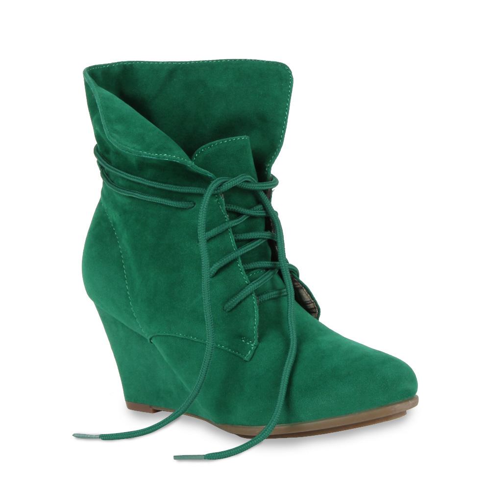 Keilabsatz-Damen-Stiefel-Stiefelette-94458-Schuhe-36-41