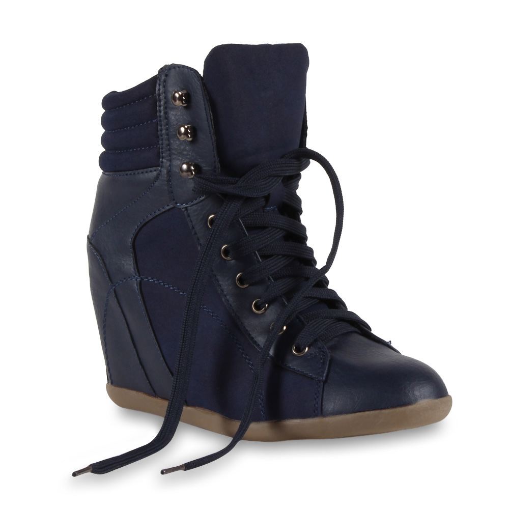 Ladies-Trainer-Wedge-94705-Shoes-Wedges-36-41 thumbnail 3